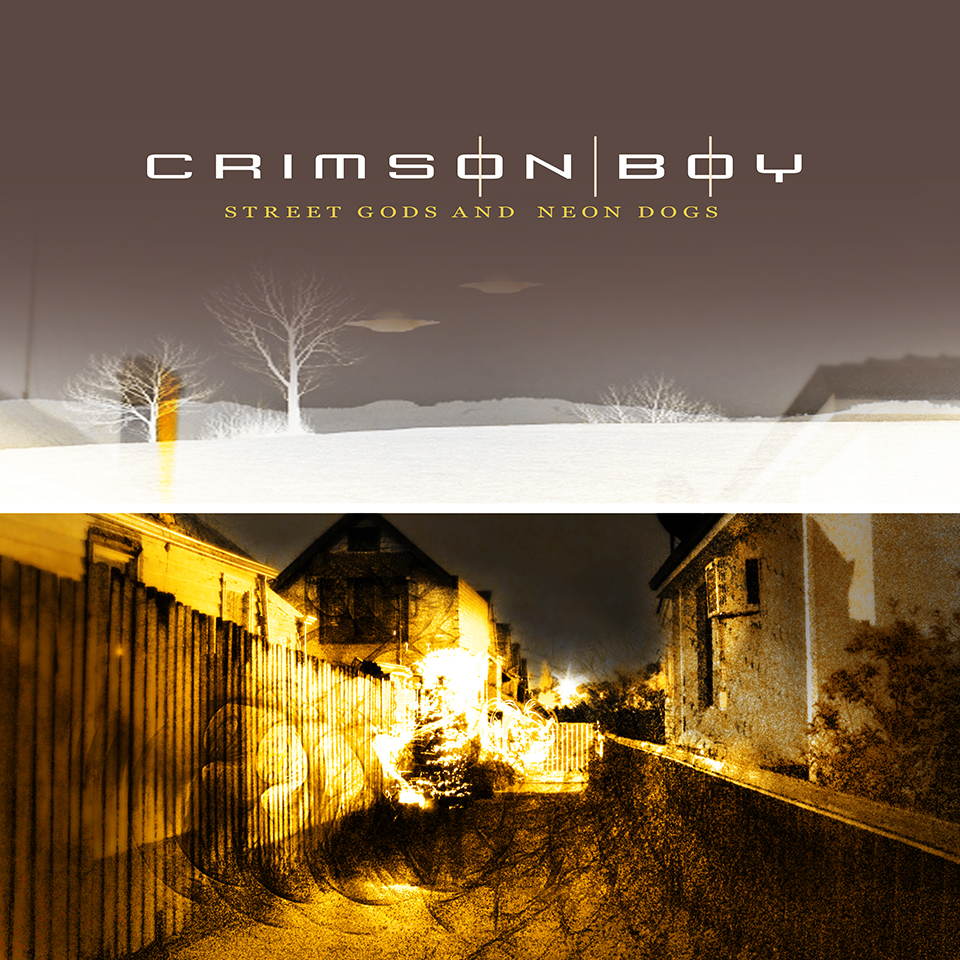 Cover Crimson Boy Street Gods Neon Dogs Le001