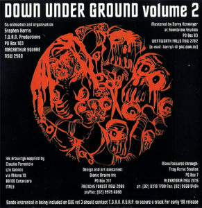 Down Underground Vol.2 Cd Cover 1997 291x300